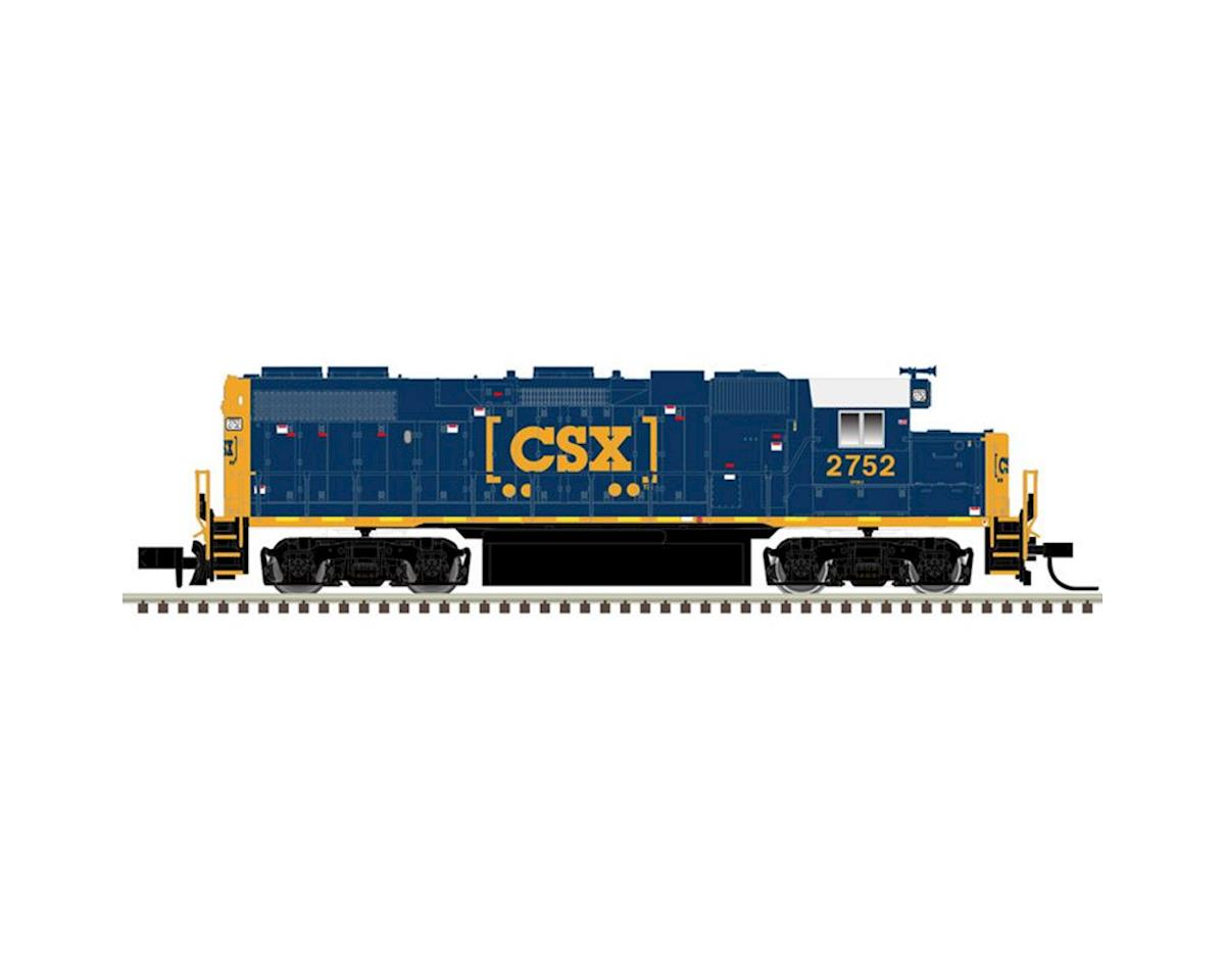 Atlas Railroad N GP38-2 w/DCC & Sound, CSX/YN3b #2752