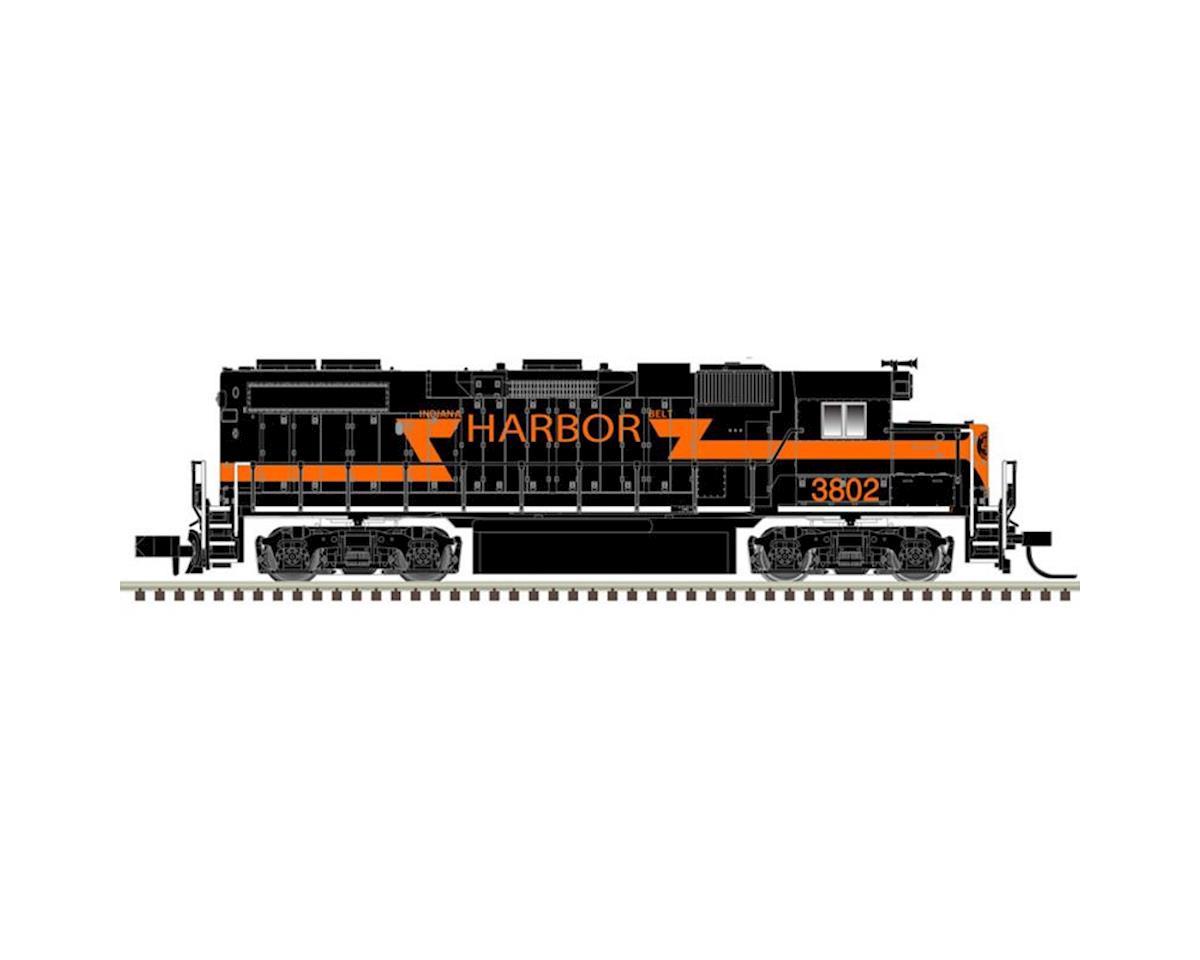 Atlas Railroad N GP38-2 w/DCC & Sound, IHB #3802
