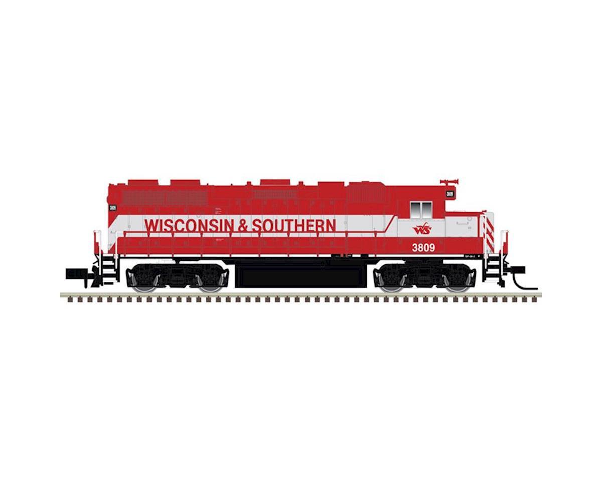 Atlas Railroad N GP38-2 w/DCC & Sound, WSOR #3809