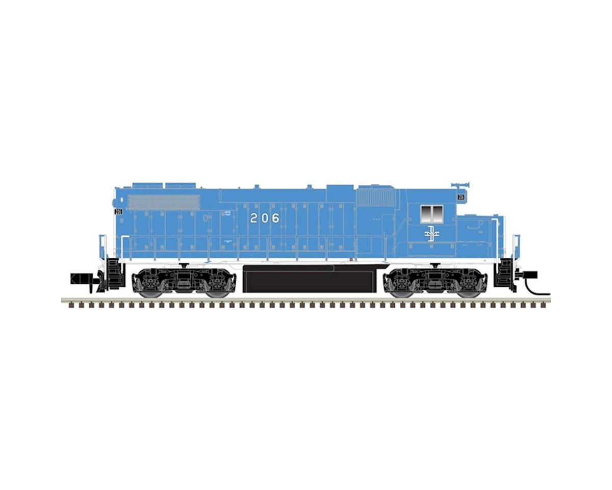 N GP38-2 w DCC B&M #208
