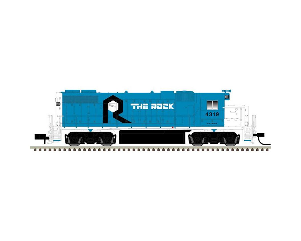 Atlas Railroad N GP38-2 w/DCC & Sound, RI #4310