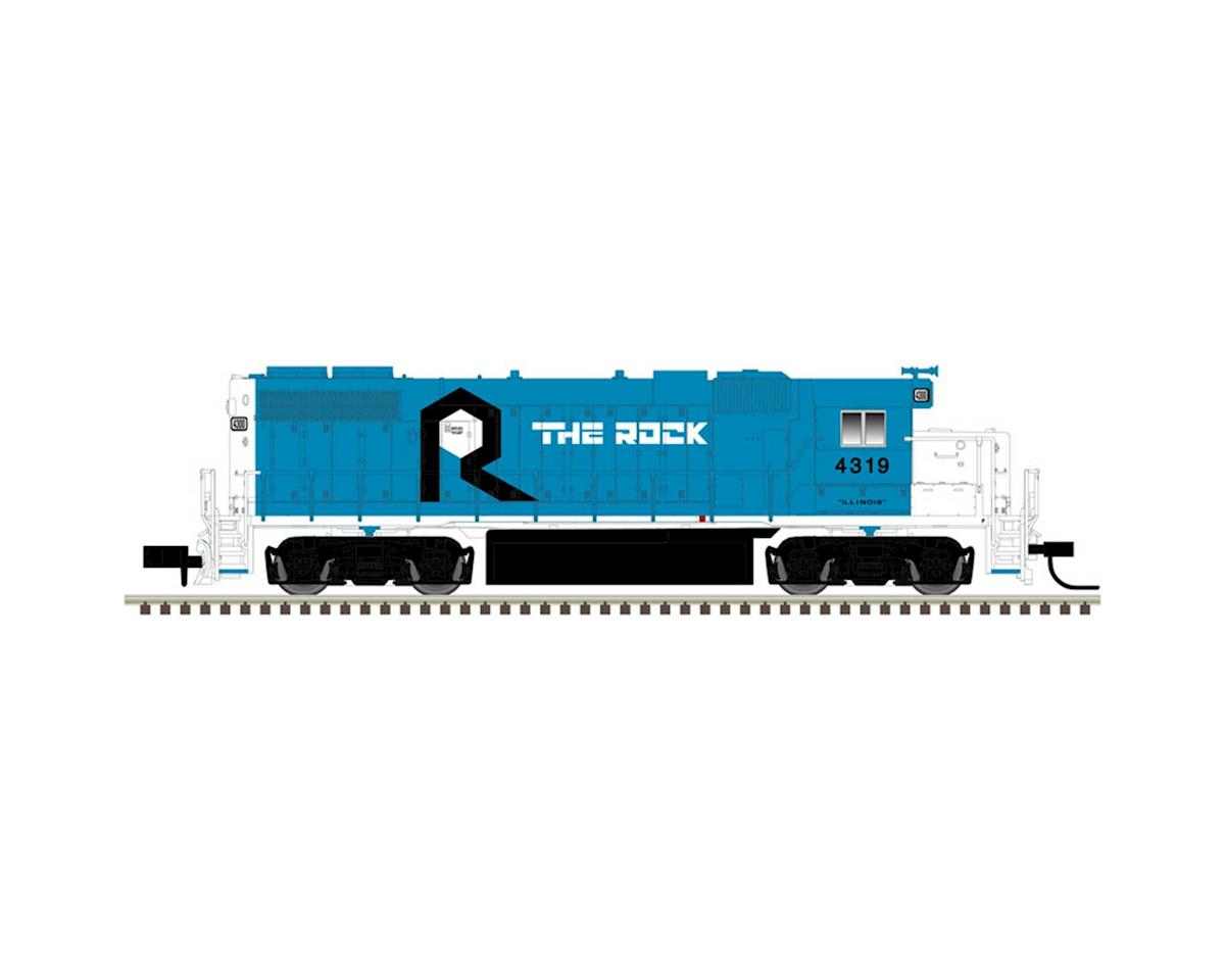 Atlas Railroad N GP38-2 w/DCC & Sound, RI #4327