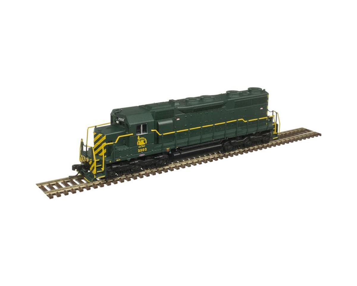 Atlas Railroad N SD35 w/DCC & Sound, CNJ #2507