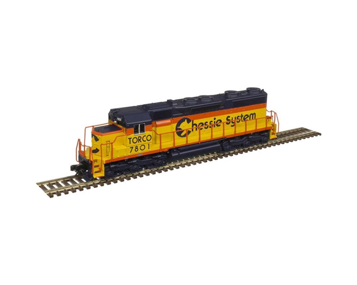 Atlas Railroad N SD35 w/DCC& Sound, CHSY/TORCO #7801