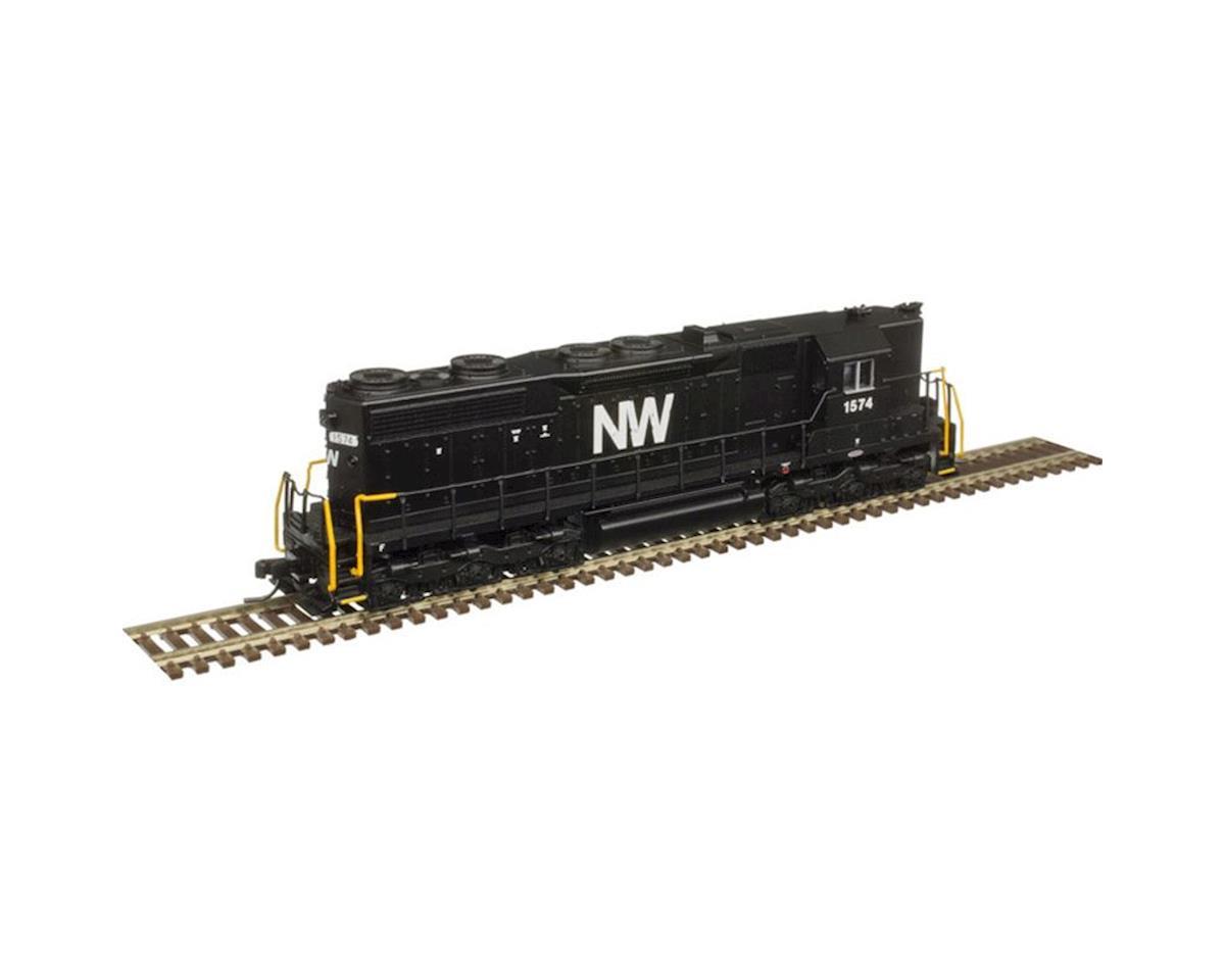 Atlas Railroad N SD35 w/DCC & Sound/High Hood, N&W #1502