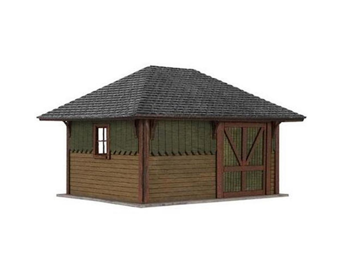 Atlas Railroad HO Laser Cut KIT Section House