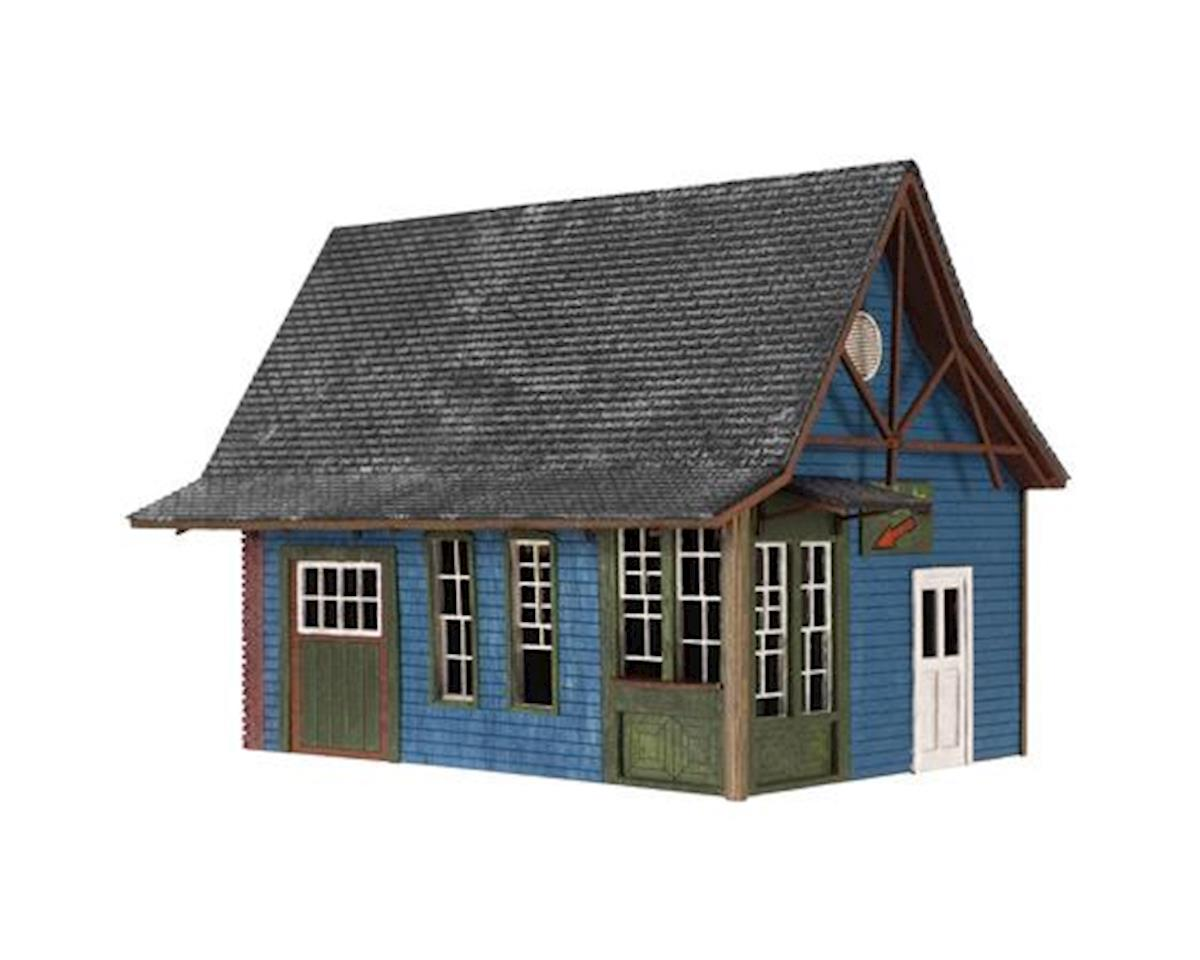 Atlas Railroad HO Laser Cut KIT Tuckerton Ticket Office