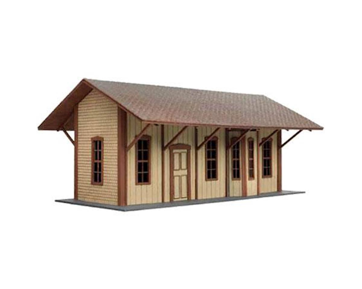 Atlas Railroad HO Laser Cut KIT Manahawkin Railroad Station