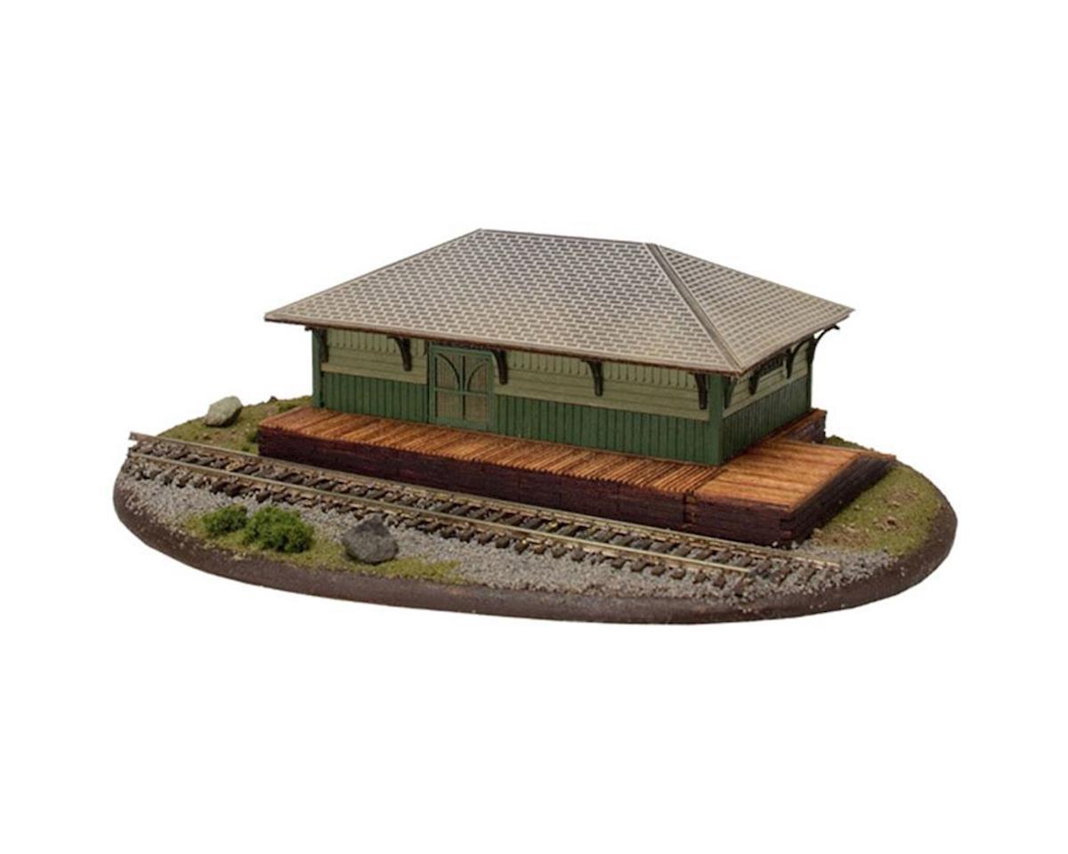 Atlas Railroad HO KIT Freight Station [ATL4001050]   Toys & Hobbies