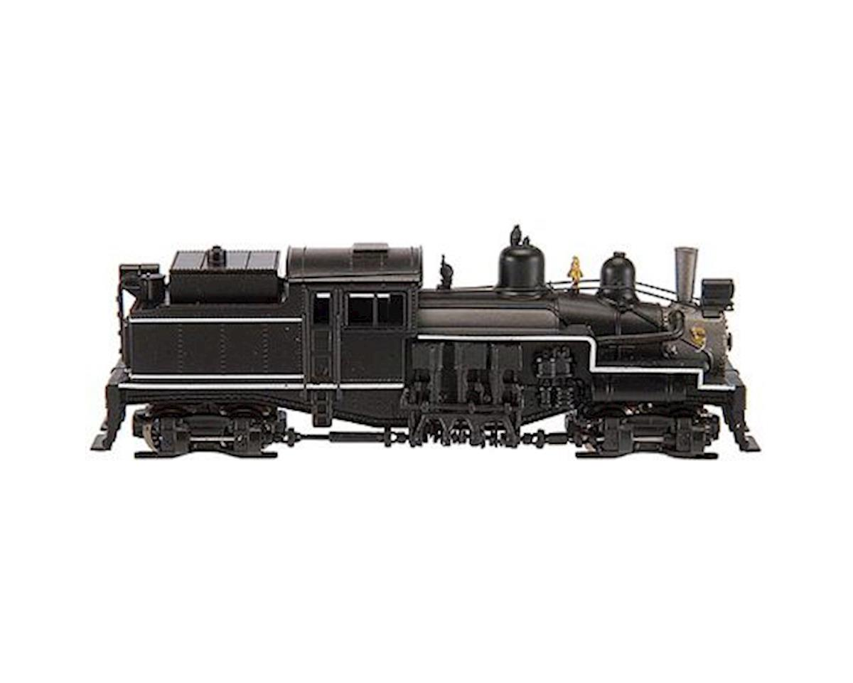 Atlas Railroad N 2-Truck Shay, Unlettered/Black/White