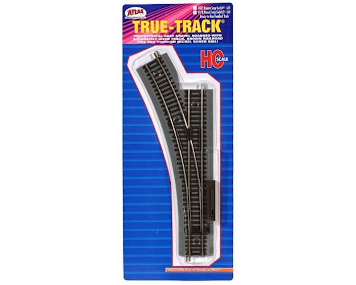 Atlas Railroad HO True-Track Manual Left-Hand Switch