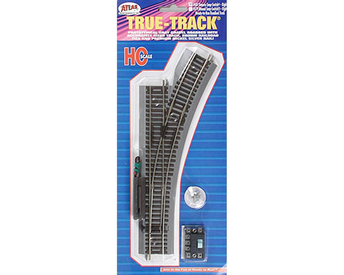 481 Remote Switch Rt True-Track HO by Atlas Railroad
