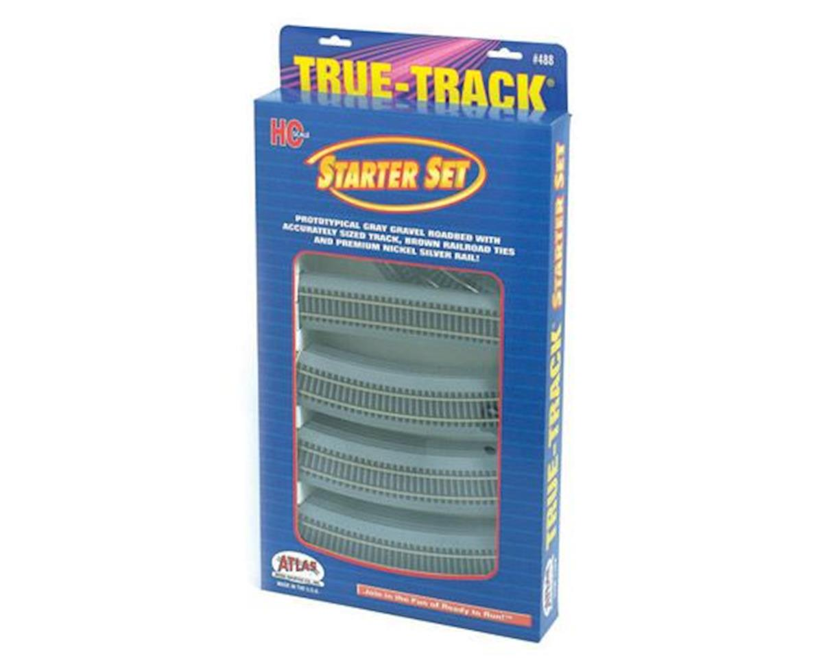 Atlas Railroad HO True-Track Starter Set (18)