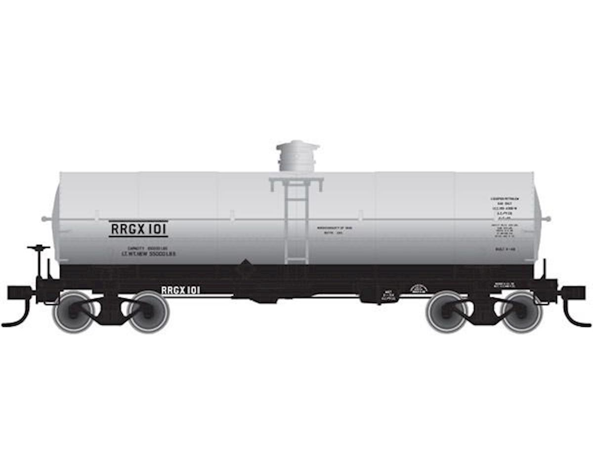 Atlas Railroad N 11,000-Gallon Tank w/Platform, Undecorated