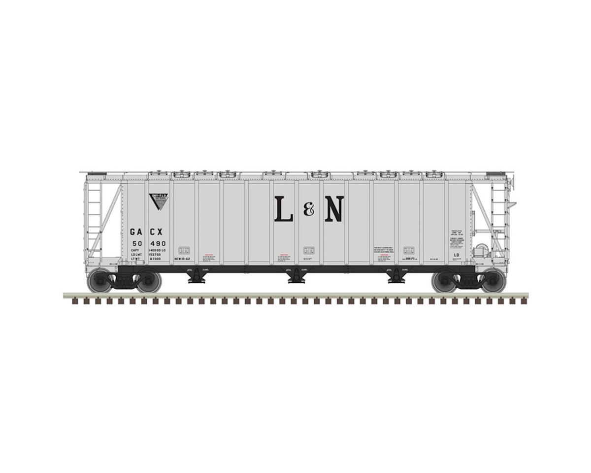 N 3500CF Dry-Flo Hopper, L&N #50485 by Atlas Railroad