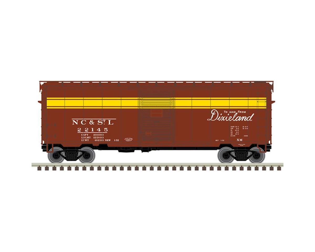 Atlas Railroad N 40' PS-1 Box, NCSTL #22302