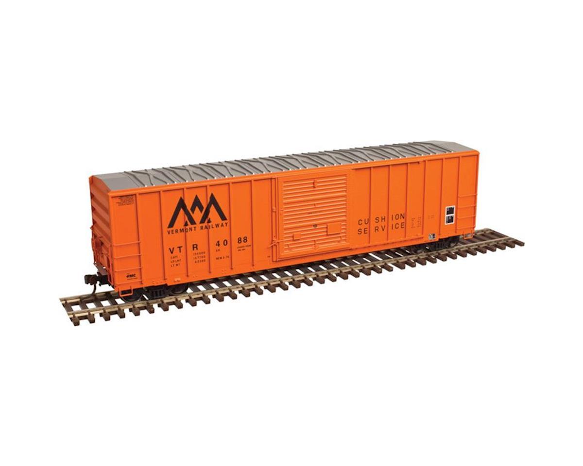 Atlas Railroad N FMC 5077 Single Door Box, VTR/Orange #4139