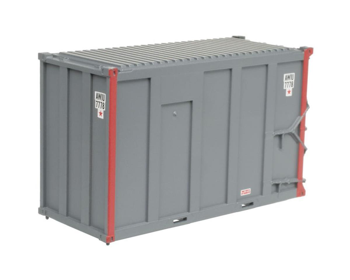 Atlas Railroad N TM 20' High-Cube MSW Container, AMIU/Sojo #1 (4)
