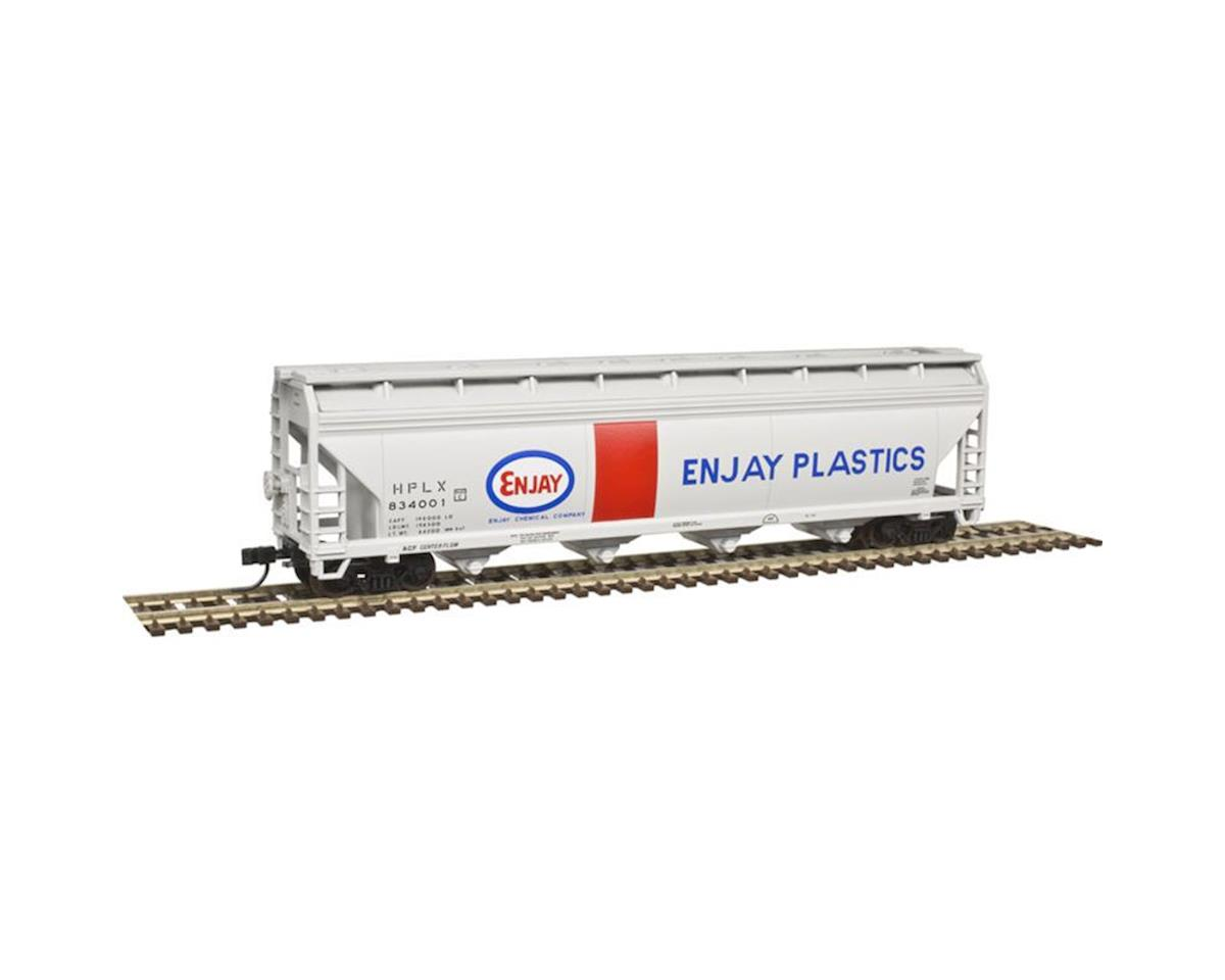 Atlas Railroad N Trainman5250Covered Hopper,Enjay Plastics#834068