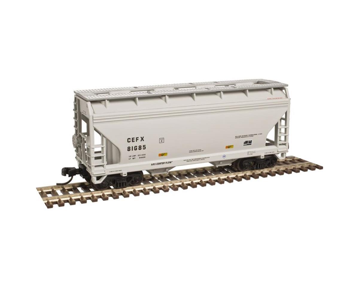 Atlas Railroad N Trainman 2-Bay Centreflow Hopper,CIT Group#71707