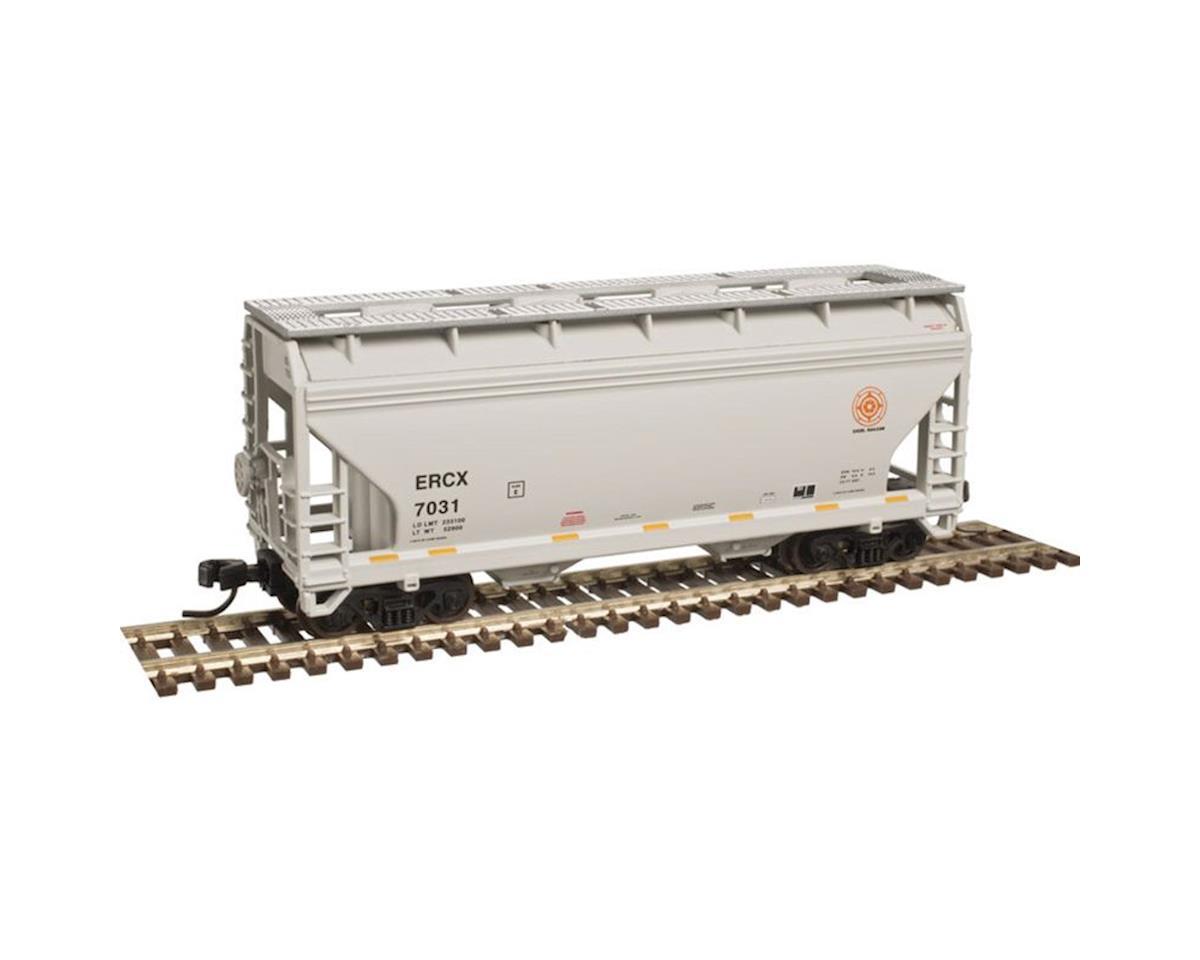 Atlas Railroad N Trainman 2-Bay Centreflow Hopper, ERCX #7012
