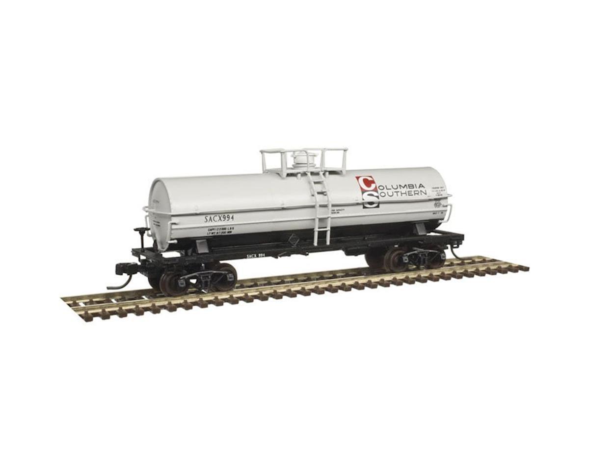 Atlas Railroad N 11,000-Gallon Tank, Columbia Southern #999