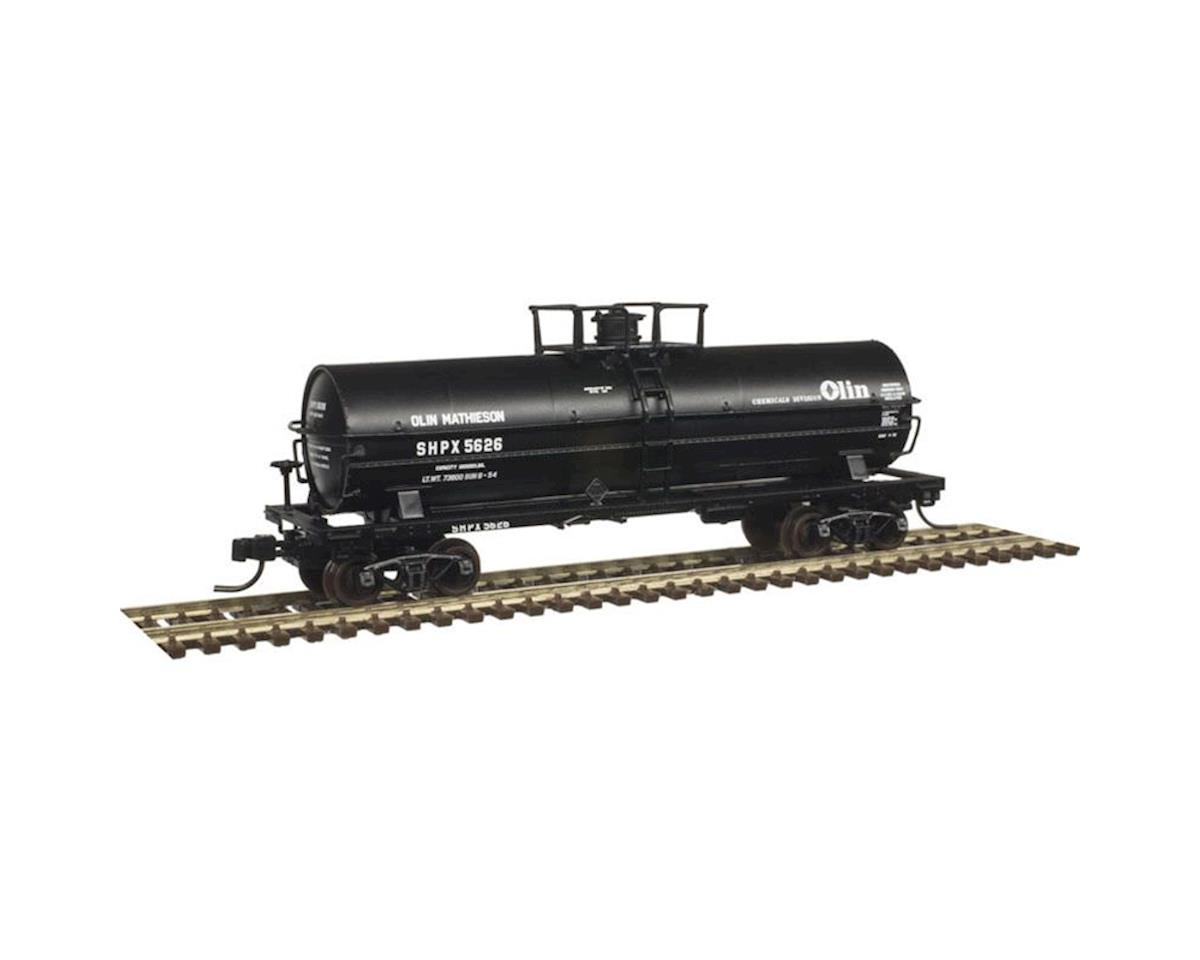 Atlas Railroad N 11,000-Gallon Tank, Olin Chemical Division #5644