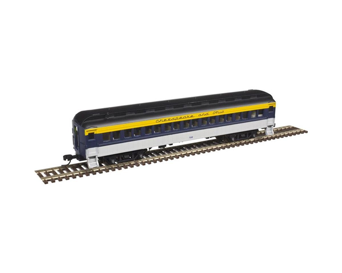 Atlas Railroad N Trainman 60' Coach, C&O #717