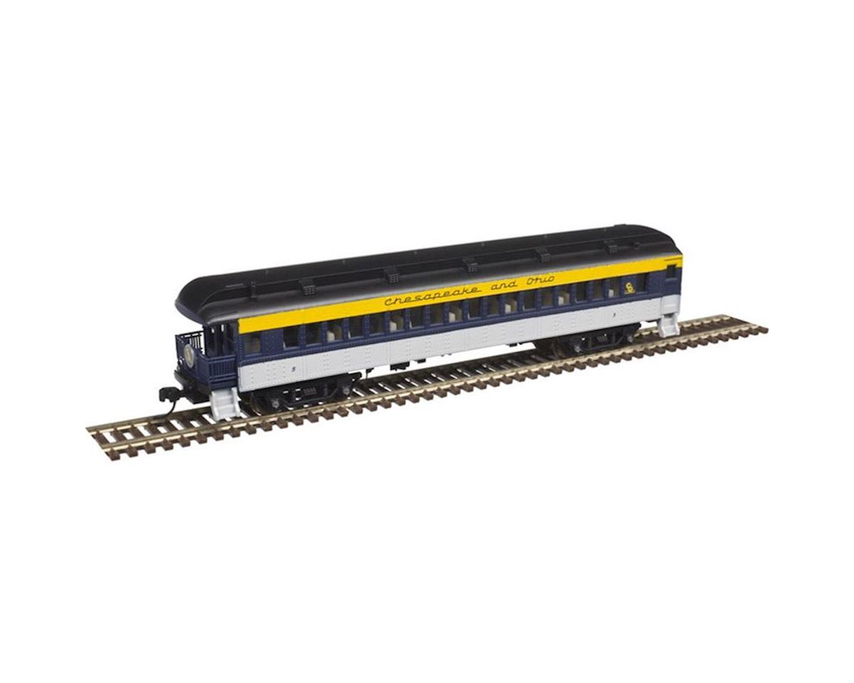 Atlas Railroad N Trainman 60' Observation, C&O #5