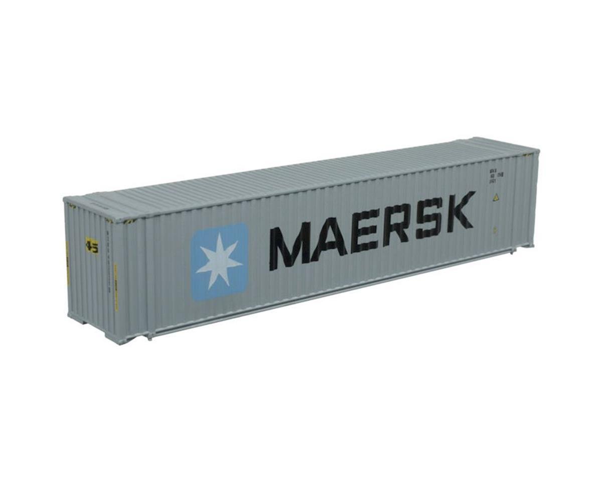Atlas Railroad N 45' Container, MSKU Set #1 (3)