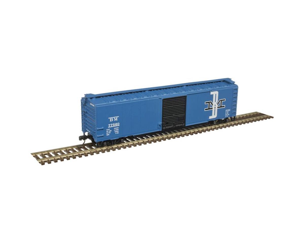 Atlas Railroad N Trainman 50' Single Door Box, B&M #77537