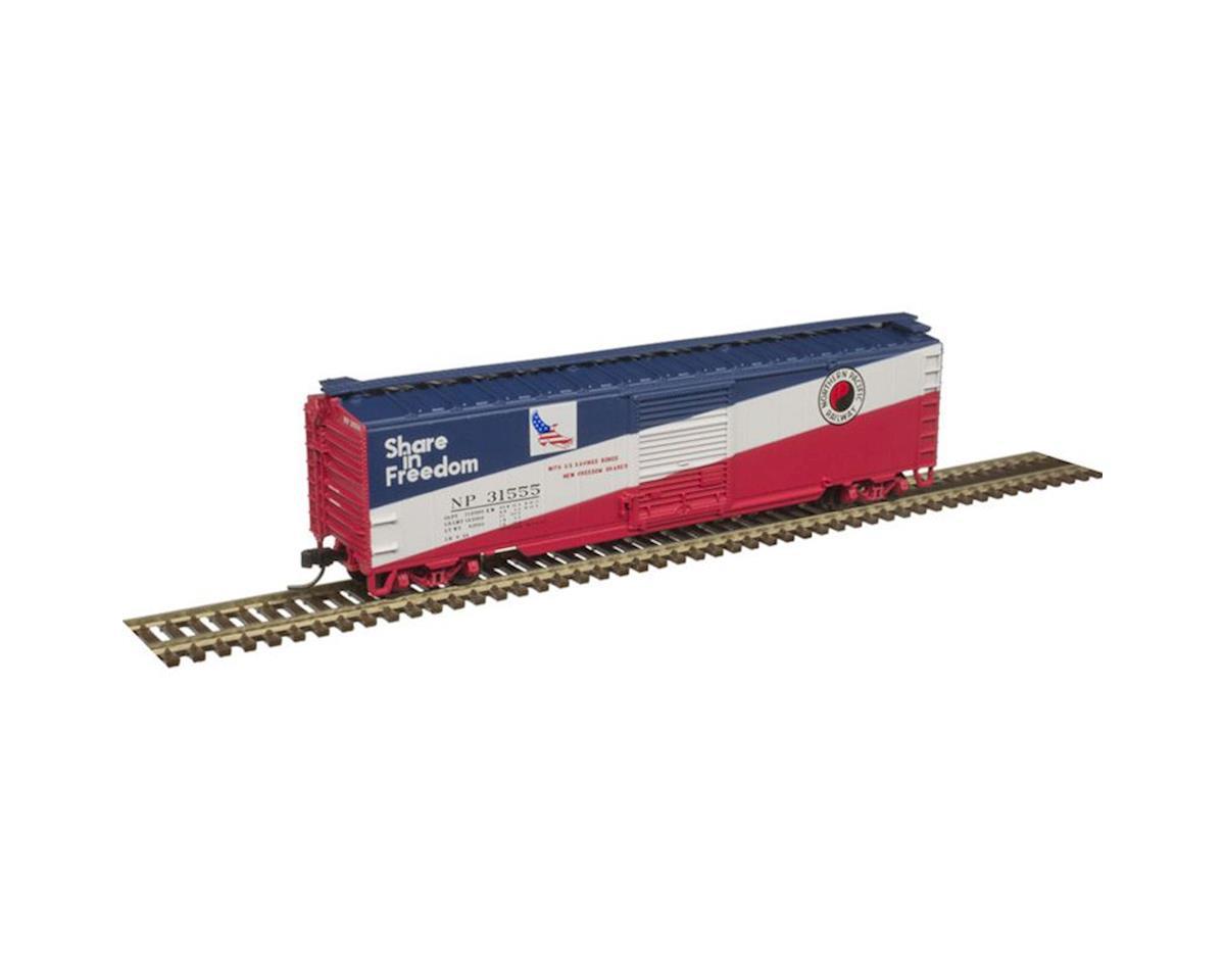 Atlas Railroad N Trainman 50' Single Door Box, NP #31007