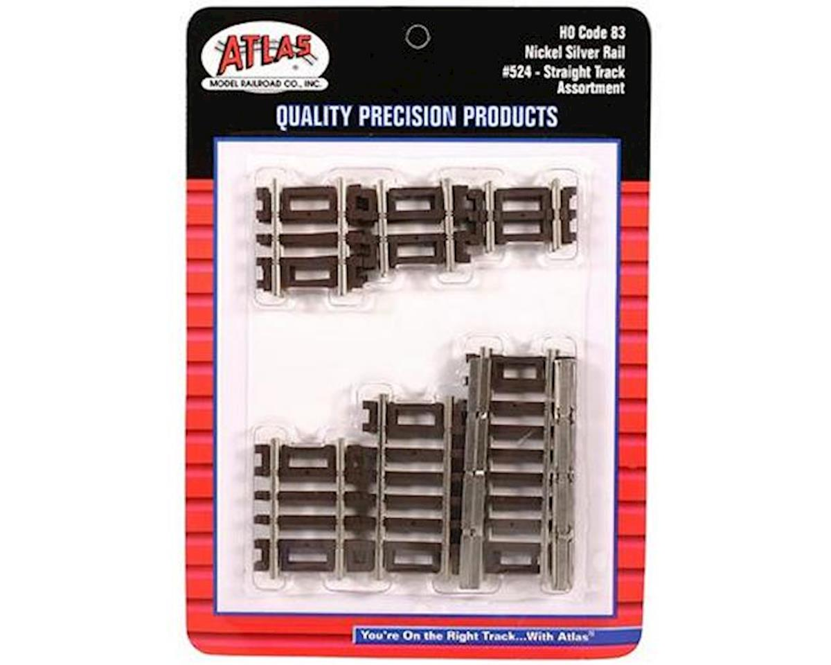 Atlas Railroad HO Code 83 Straight Assortment