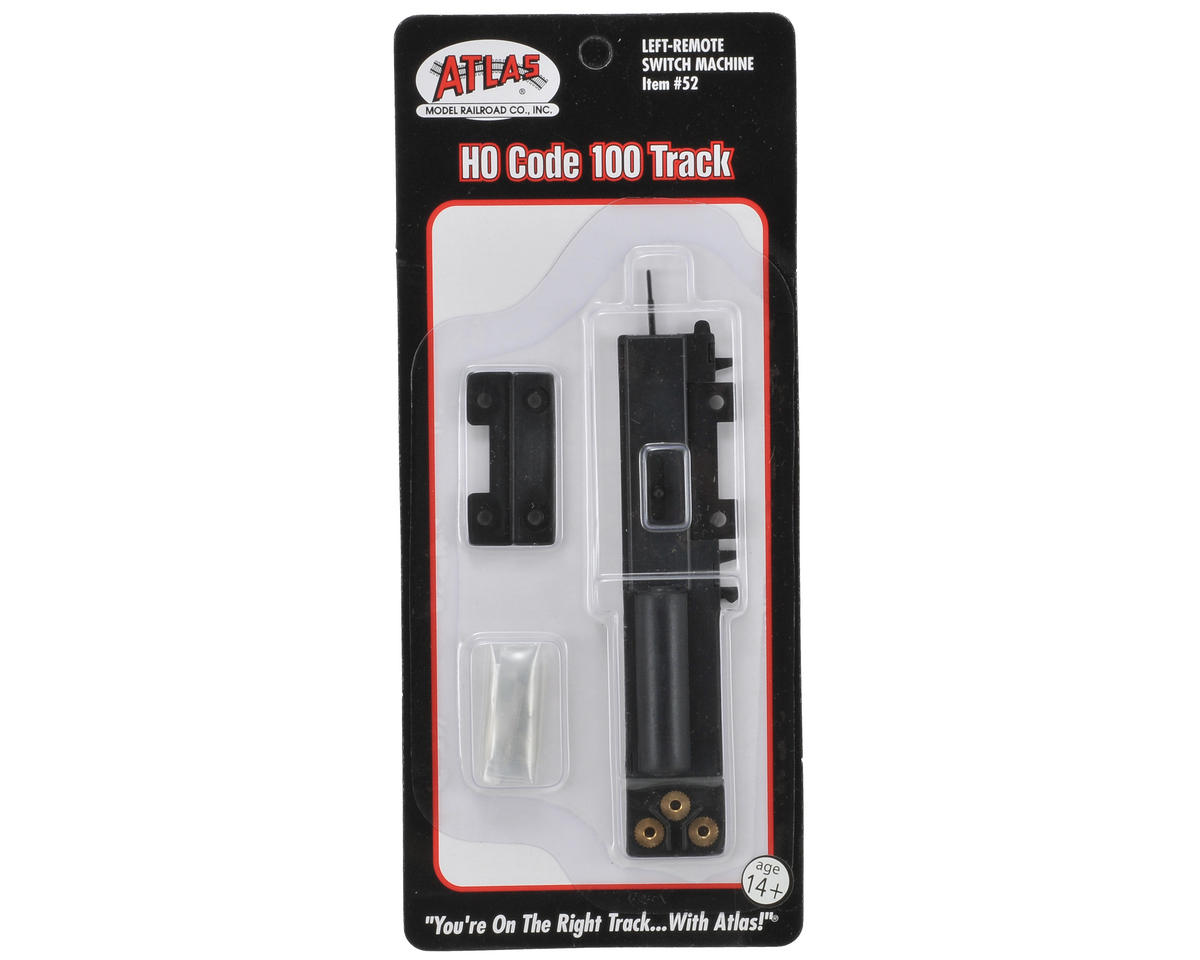 Atlas Model Railroad HO-Gauge Code 100 Remote Left-Hand Switch Machine
