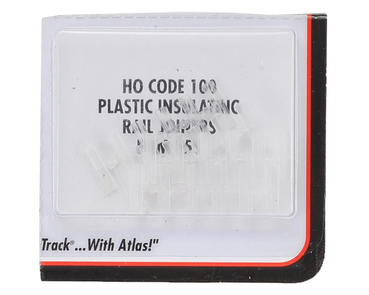 Atlas Model Railroad HO-Scale Code 100 Insulated Rail Joiners (24) (Plastic)