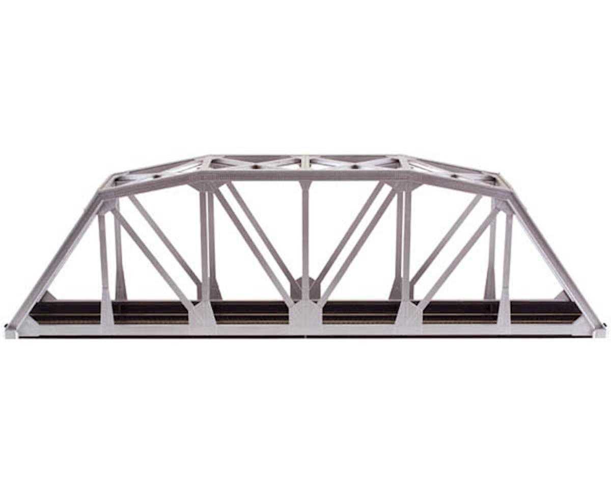 "HO-Gauge Code 83 18"" Through Truss Bridge Kit (Silver)"