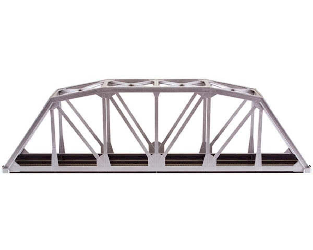 "Atlas Railroad HO-Gauge Code 83 18"" Through Truss Bridge Kit (Silver)"