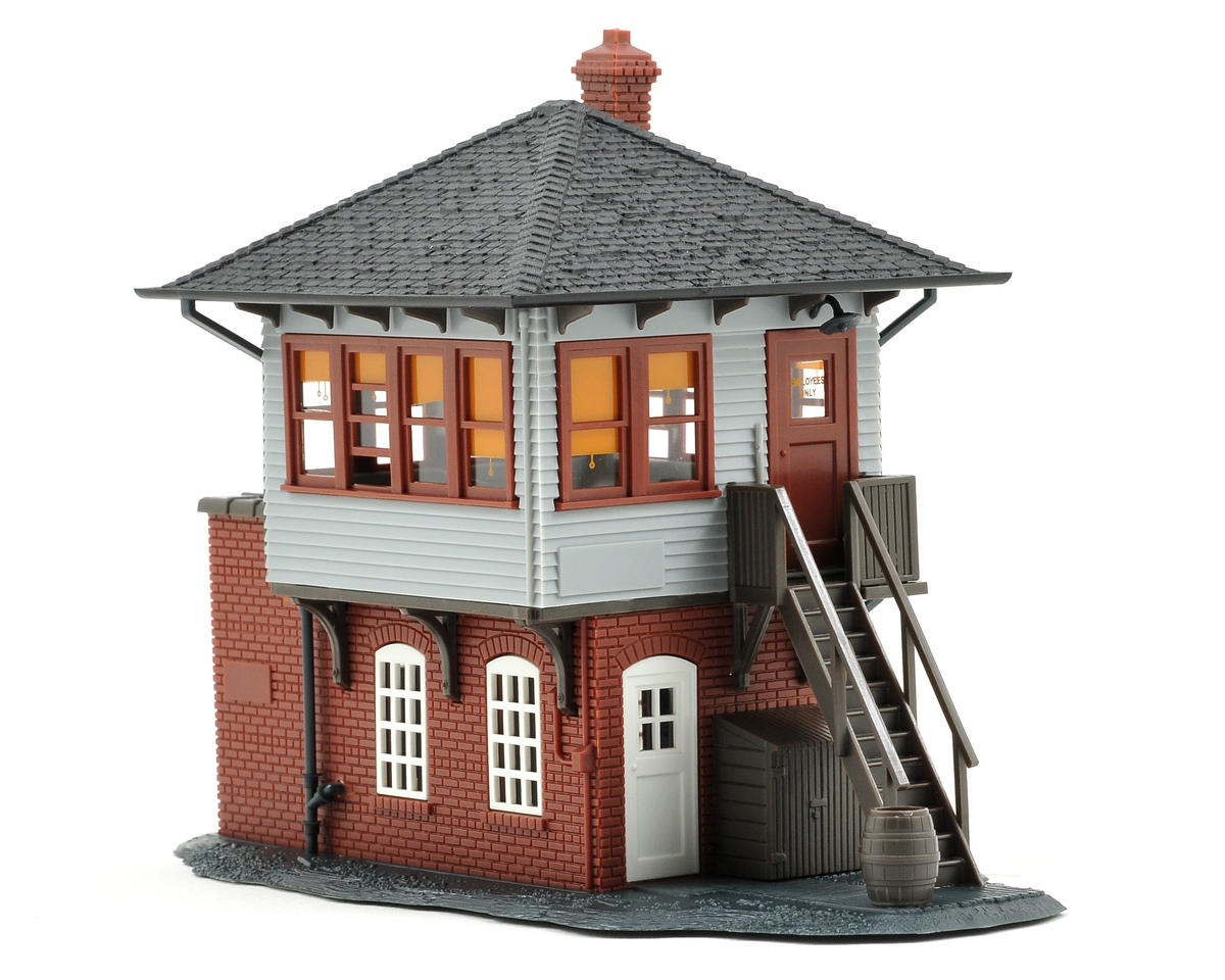 Atlas Model Railroad HO-Scale Built-Up Signal Tower