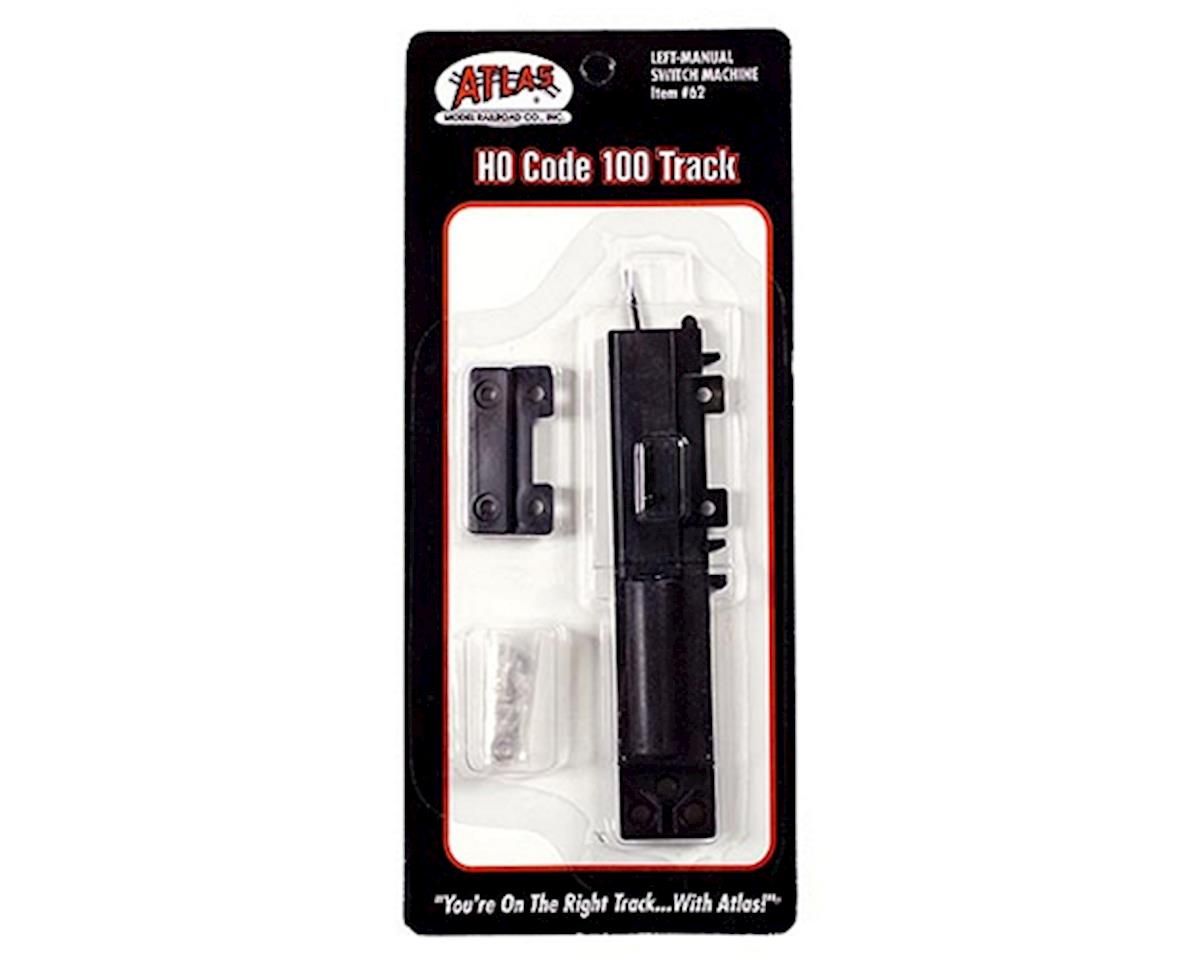 Atlas Railroad HO Code 100 Manual Left-Hand Switch Machine