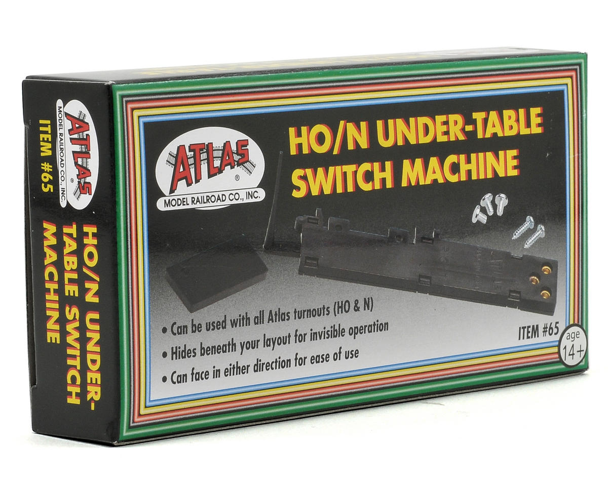 Atlas Railroad HO/N-Gauge Under Table Switch Machine
