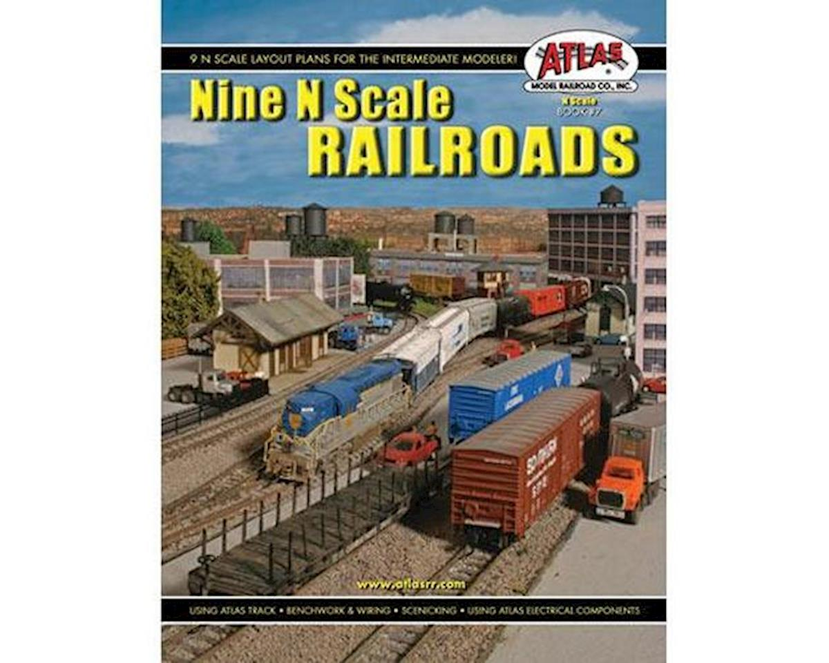 Nine N Scale Railroads by Atlas Railroad