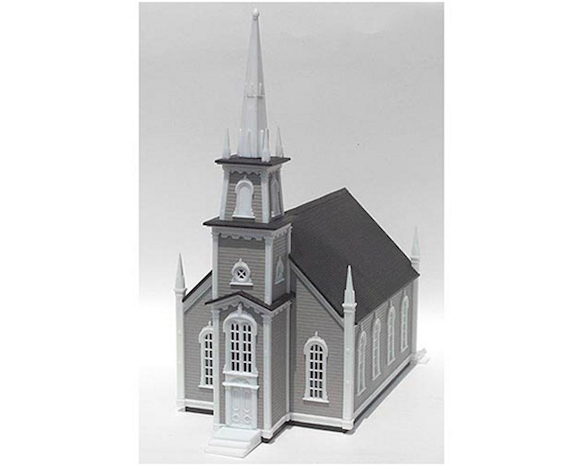 HO KIT 19th Century American Church by Atlas Railroad