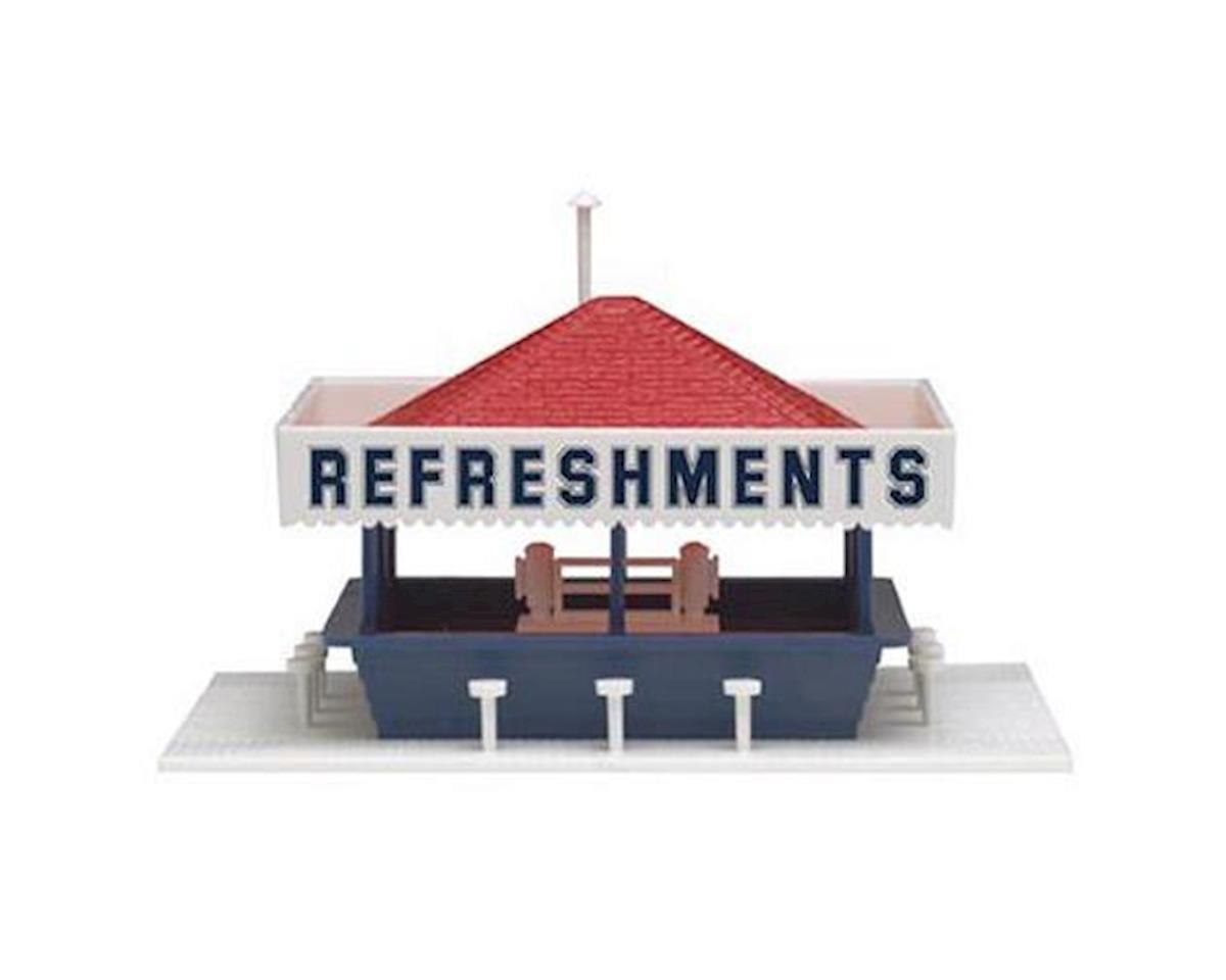 Atlas Railroad HO KIT Refreshment Stand