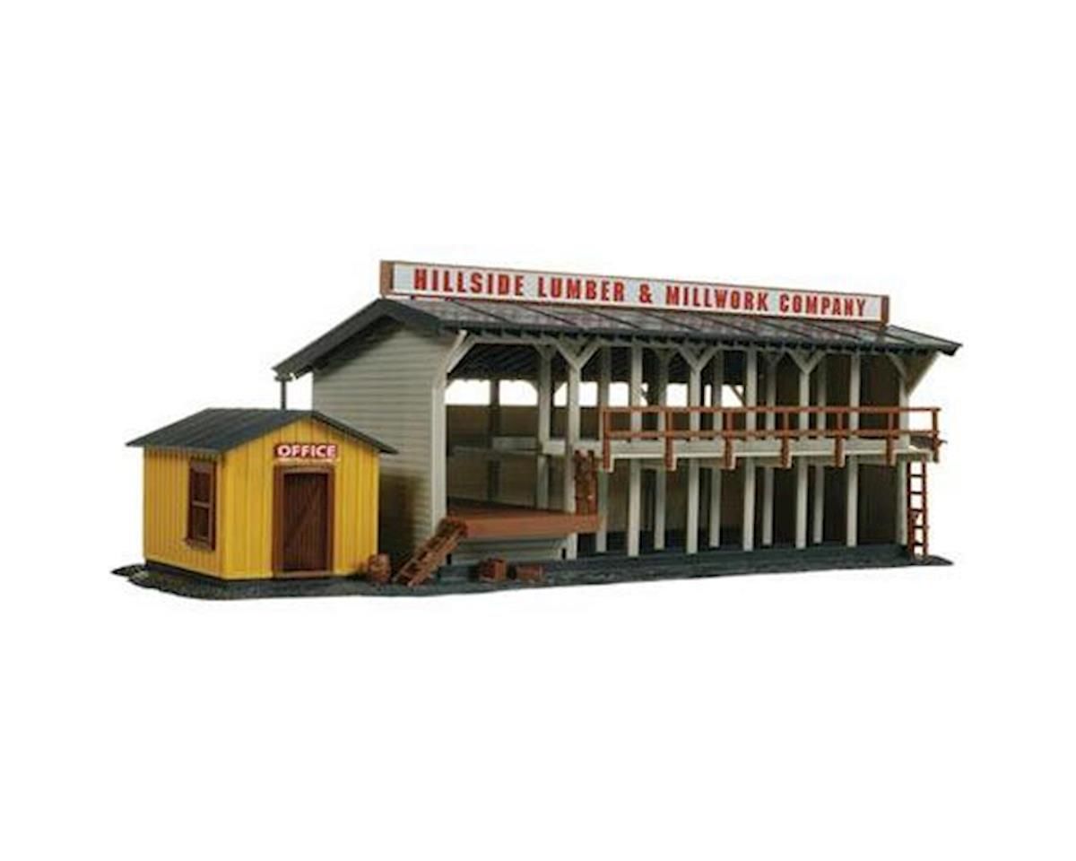Atlas Railroad HO KIT Lumber Yard & Office