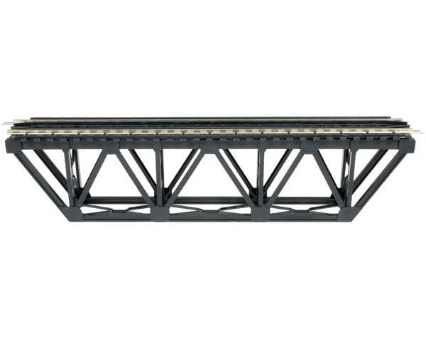 Atlas Model Railroad HO-Gauge Code 100 Snap-Track Deck Truss Bridge