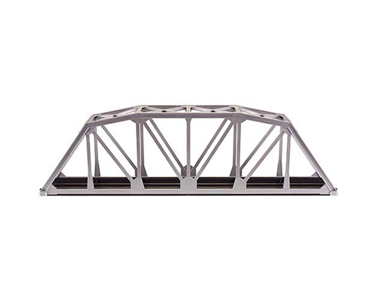 "Atlas Railroad HO KIT Code 100 18"" Through Truss Bridge, Silver"