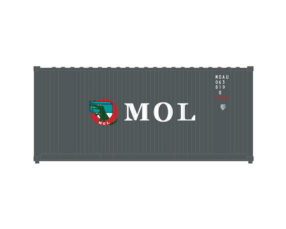 O Trainman 20' Container MOL (2)