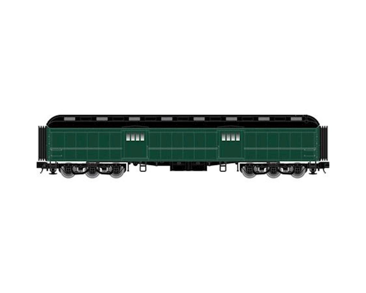 O Trainman 60' Baggage Car, Unlettered (2R) by Atlas O