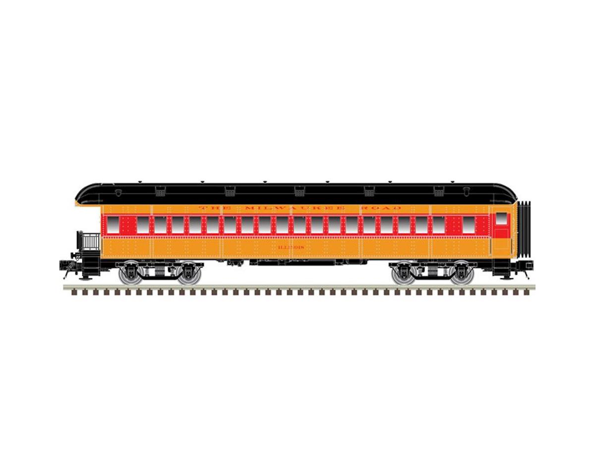 Atlas O O Trainman 60' Observation, MILW (2R)