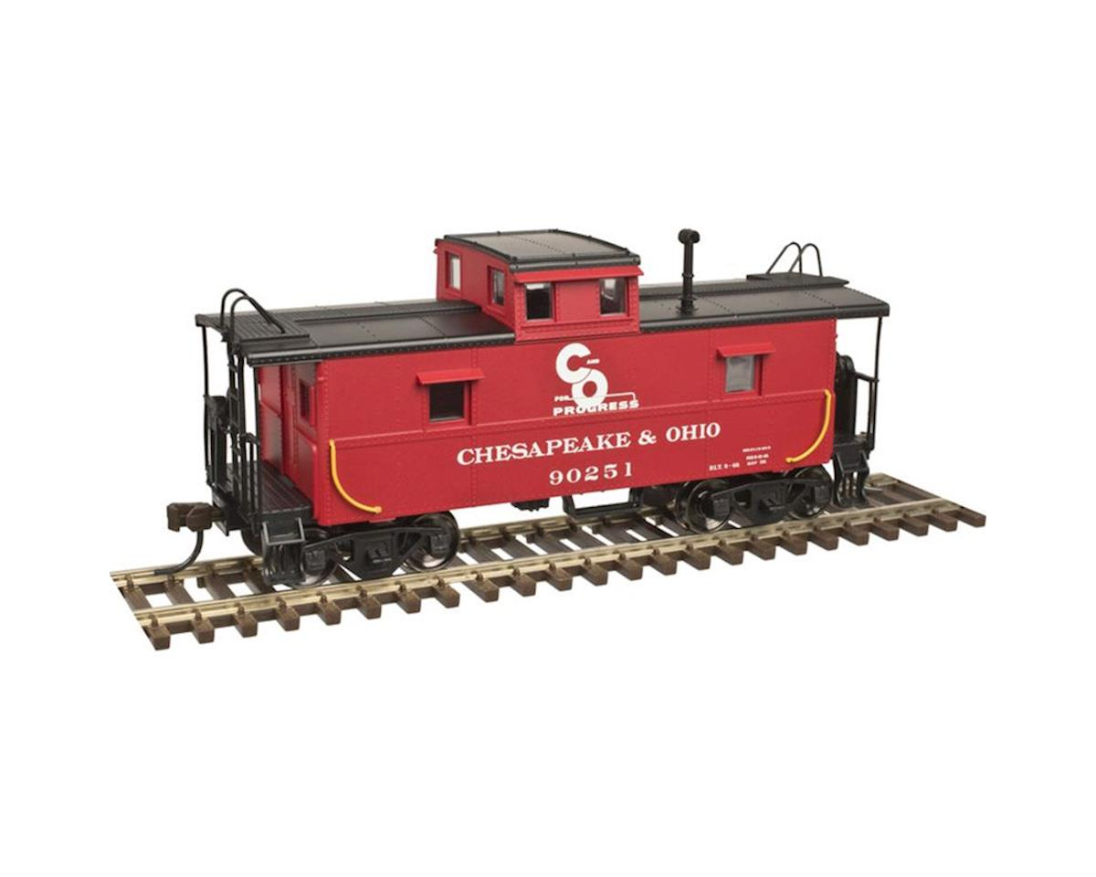 Atlas O O Trainman C&O Cupola Caboose, C&O (2R)
